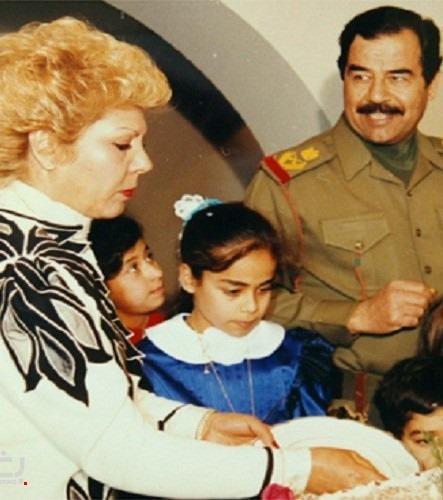 وفاة حسين سالم: رغد صدام حسين تنفي وفاة والدتها